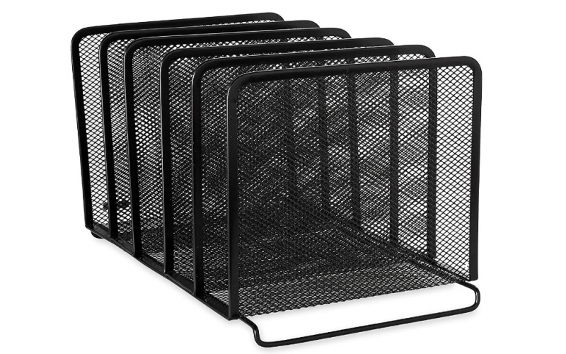 Mesh file Organizer 5 Upright Selections desk file organizer